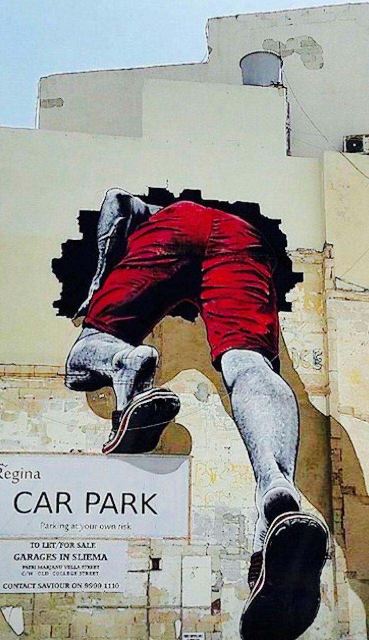 Certains vont droit au mur ! / Street Art.