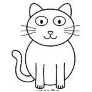 this page has a lot of free cat coloring pages for kids teachers can use these coloring pages for child education