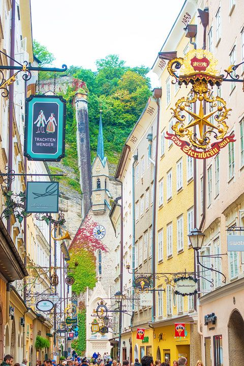 Salzburg, Austria. Home of Mozart and the Sound of Music! Click here for the Sound of Music filming locations.