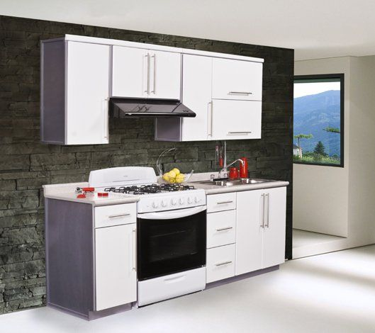 Off White Kitchen Cabinets With Slate Appliances: 17 Best Ideas About Cocinas Modulares On Pinterest