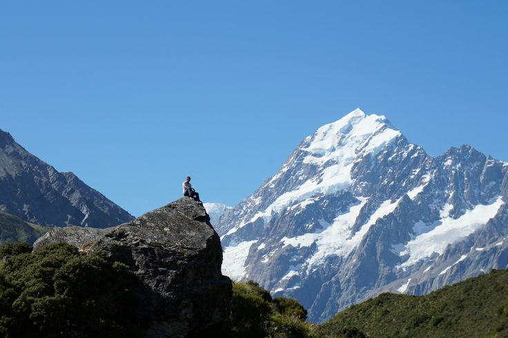 Sander from the Netherlands exploring New Zealand