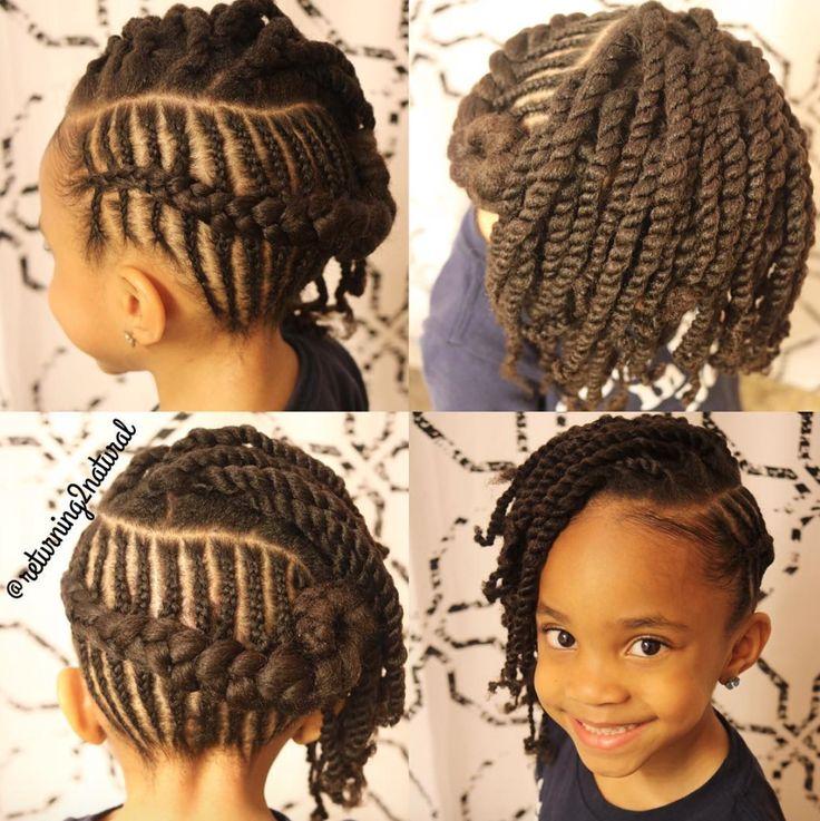 Sensational 1000 Ideas About Black Kids Hairstyles On Pinterest Kid Short Hairstyles For Black Women Fulllsitofus