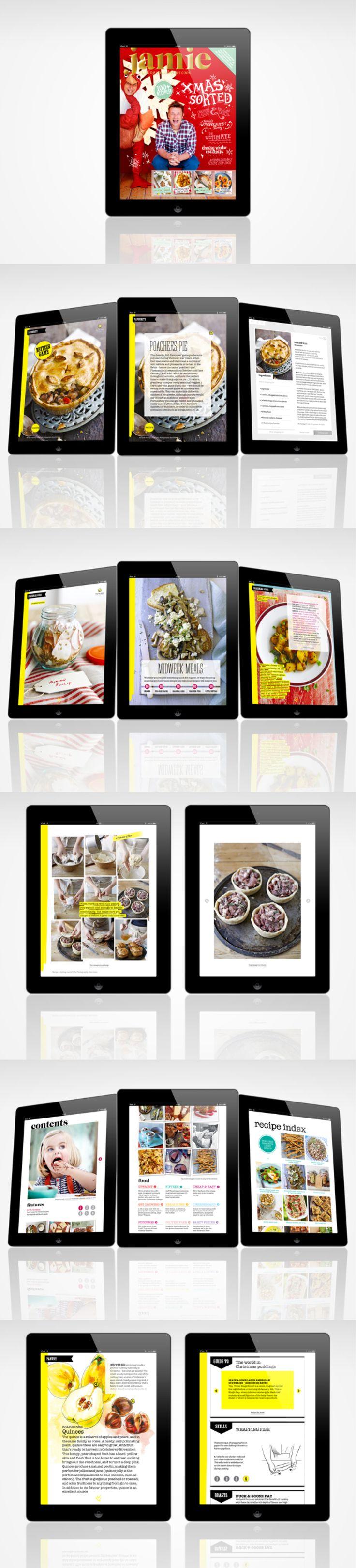 Jamie Magazine - iPad magazine by woz Brown http://www.behance.net/wozbrown