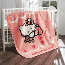 Evdenemoda.Com - Hello Kitty Ribbon İspanyol Bebek Battaniyesi