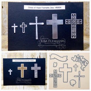 Peanuts and Peppers Papercrafting: Tuesday Tip - Crosses Created With The Cross of Hope Framelits Dies