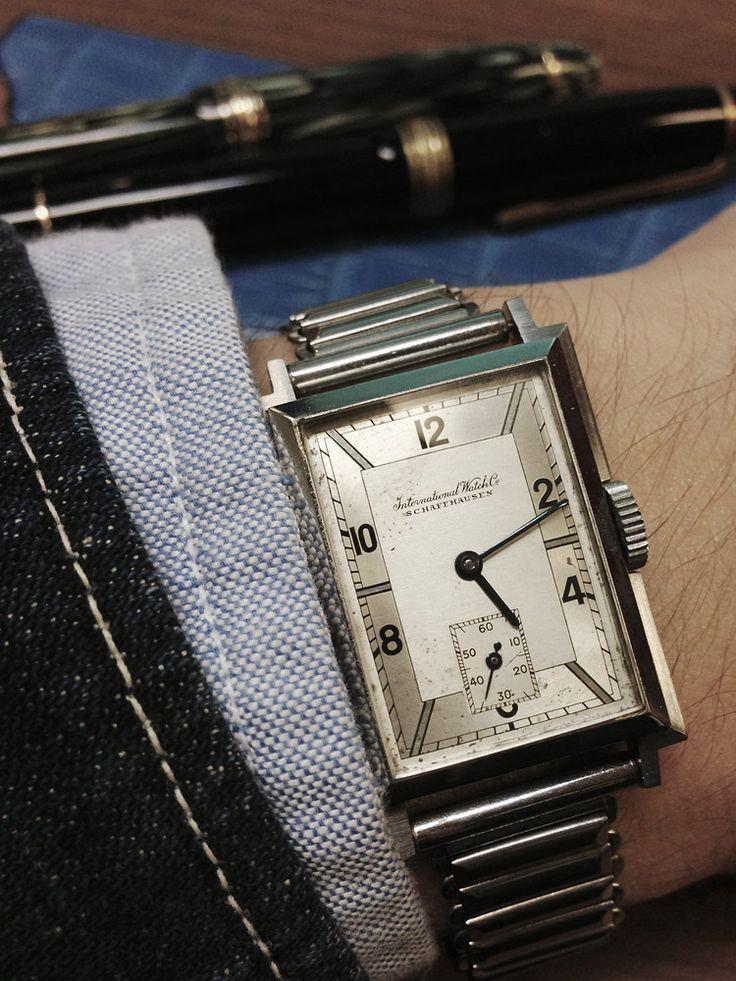 488sbr: International Watch Company, IWC 1936...