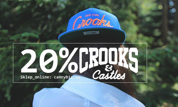 -20% na wszystkie produkty CrooksnCastles w sklepie Cannybiz http://cannybiz.co/crookscastles-m-3.html + Przesyłka na terenie całego kraju 10zł - Zapraszamy.