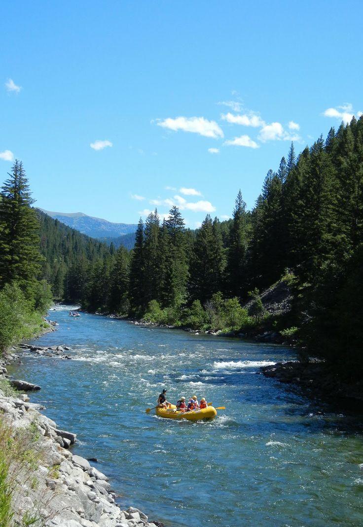 gallatin river | Gallatin River Valley, near Yellowstone.