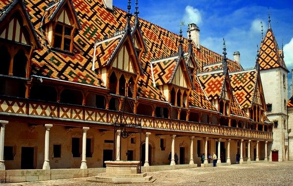 hospices de beaune | PHOTO HOSPICES DE BEAUNE (21) COTE D'OR