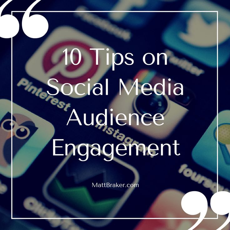 Engage your audience and become a social media boss