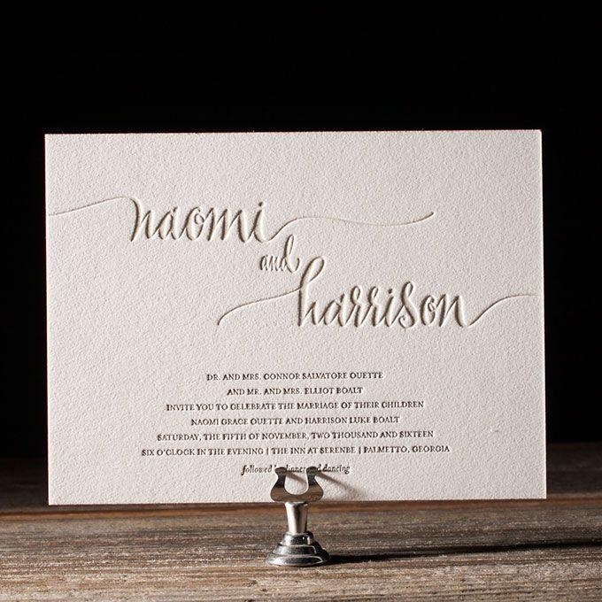 Best 25 typography wedding invitations ideas on pinterest typography wedding invitations stopboris Gallery