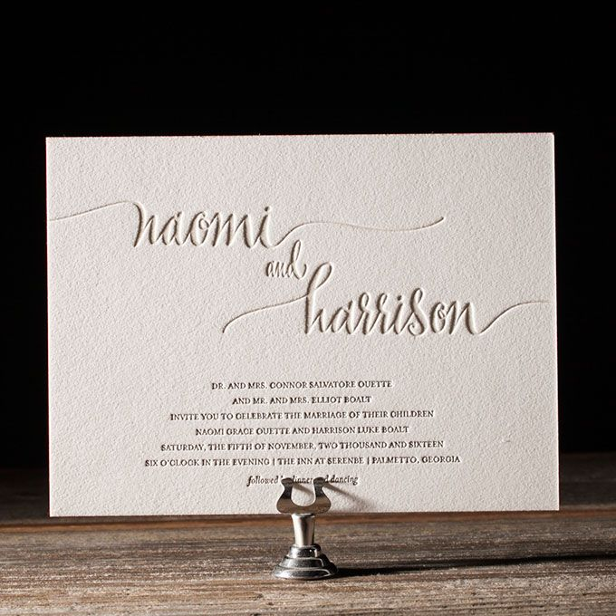 Looking for a modern, yet whimsy wedding invitation style? Look no further than these graphic invitations, all of which prove that sometimes less is really more..