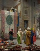 The Carpet Merchant  by Jean-Léon Gérôme