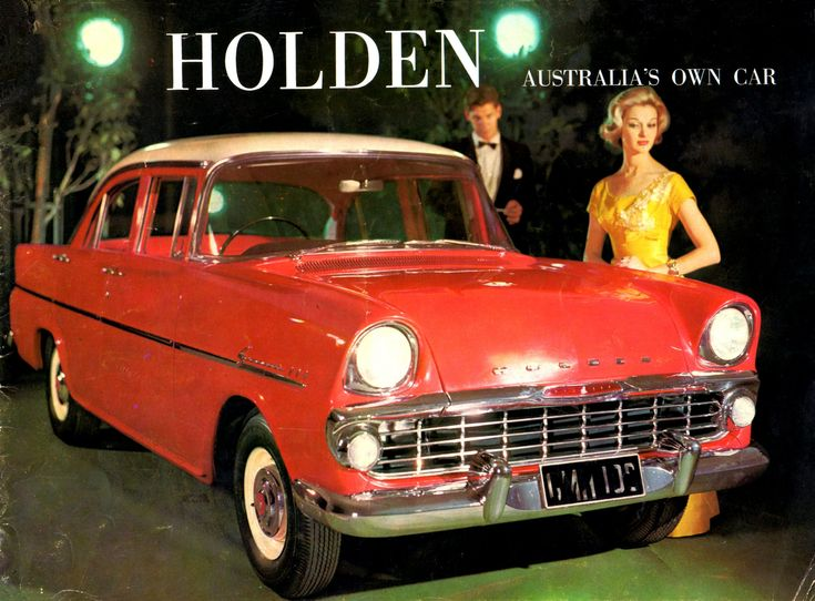 1961 - 62 Holden EK Special (suddenly looked very old fashioned against Holdens new Commodores!) Poster.