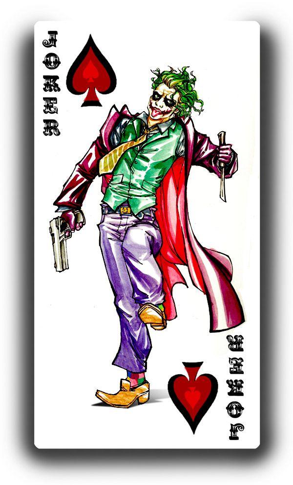 Zany http://loonylucifer.deviantart.com/art/Joker-Card-92213572