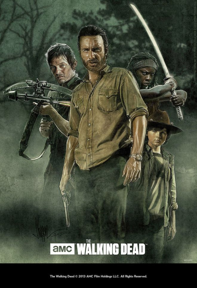 PaulShipper The Walking Dead Poster