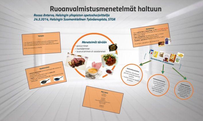 PORTFOLIO | Helsingin työväenopiston Ruoanvalmistuksen menetelmät haltuun -kurssin ensimmäisen kurssikerran materiaali.