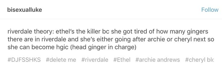 My favorite Riverdale theory