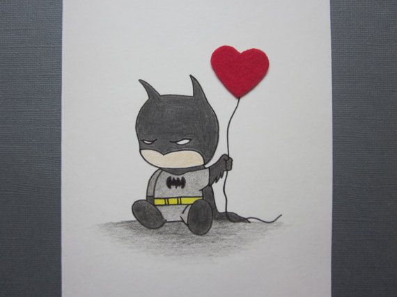 Hey, I found this really awesome Etsy listing at https://www.etsy.com/listing/176625294/batman-inspired-love-card