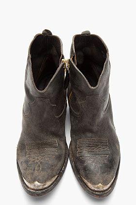 Husband has boot fetish