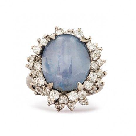 Vintage Star Sapphire Ring | Vintage Jewelry