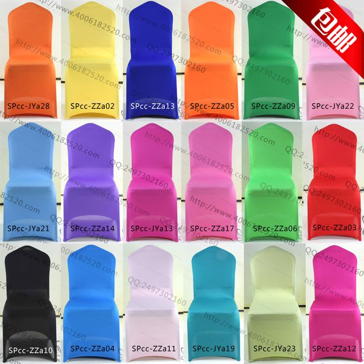 Elastic Chair covers for wedding banquet  banquet chair covers back cover plus size thickening $12.60