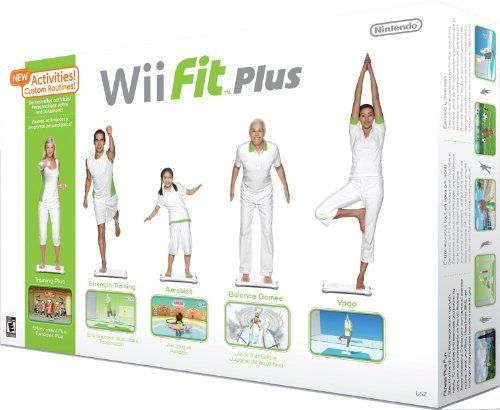 will fintess plus helps you get active while you have fun playing wii