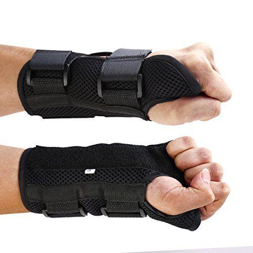 CFRTM Fortgeschritten Handgelenkbandage Handgelenkschiene f�r Karpaltunnelsyndrom , Zerrungen und Arthritis Medizinisch bew�hrt Schwarze. Rechte Hand Drei. M Von DHL