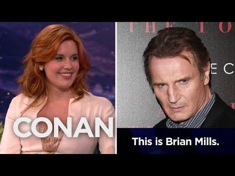 "Liam Neeson Prank-Called Maggie Grace's Ex-Boyfriend As His ""Taken"" Character"