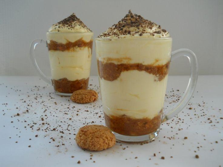 Ínycsiklandó poharas desszert, mennyei kávés mascarpone krém, hűsítő finomság!