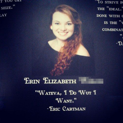 Serious Senior Quotes: 58 Best Images About Funny Yearbook Quotes On Pinterest