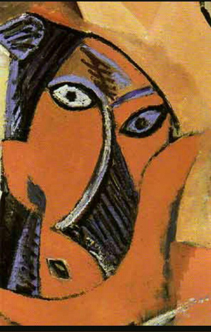 Citaten Picasso : Primitivisme gemaakt door picasso kenmerken