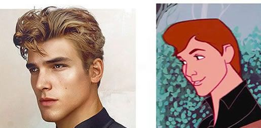 Jirka Väätäinen, a Finnish artist, and designer in Melbourne, has made a series illustrations about Disney's princes looked in real life.#1. Hercules #2. John Smith From Pocahontas. #3. Prince Phillip from Sleeping Beauty. #4. Tarzan #5. Prince Adam from Beauty and the Beast. #6. Aladdin.