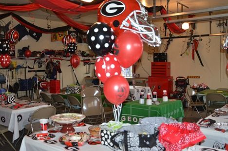 georgia bulldogs theme birthday | ... her son, Aaron, who turned 13 with an all-out Georgia Bulldog party