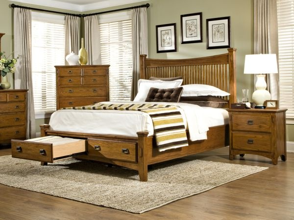 Pasadena Revival Bedroom Furniture 1 900 Constructed From Oak Veneer And Select Hardwood Heavy Duty Full