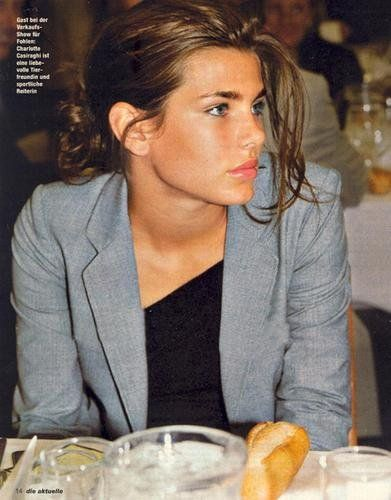 (charlotte casiraghi) I had a mini-heart attack when the Daily Fail told me she was preggers, because OMG I am old. :,(