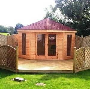 Best 25 corner summer house ideas on pinterest small garden summer house ideas small garden - Summer house plans delight relaxation ...