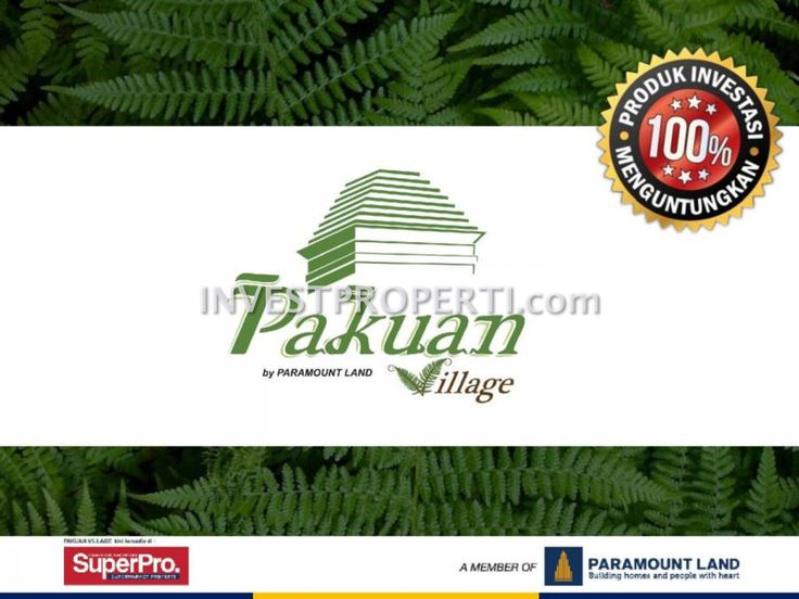 e-Brochure perumahan Pakuan Village di Curug, Tangerang. #pakuanvillageparamount