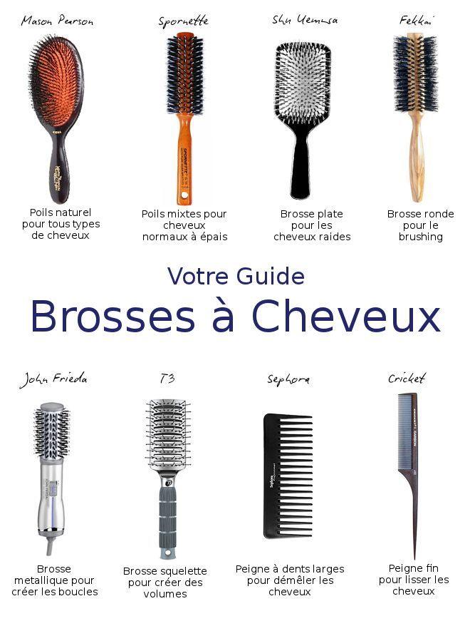 Savez vous choisir la bonne brosse à cheveux qu'il vous faut?