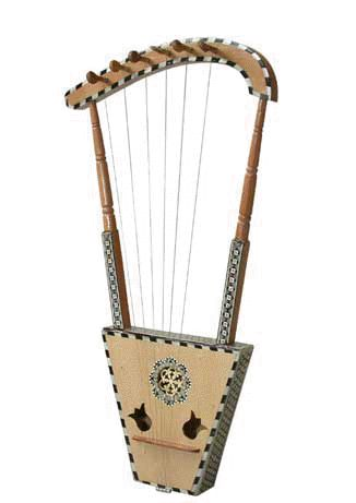 """NYATITI. The nyatiti is a five to eight-stringed plucked lyre from Kenya. It is a classical instrument played by the Luo people of Western Kenya, typically in Benga music. It is about two to three feet long. The player holds it to his chest while seated on a low stool[citation needed]. Usually it is played together with the oporo, a curved horn. The Nyatiti played by the Luos is mostly 8-stringed. The stool that the player usually sits on is traditionally known as """"Orindi"""". Orindi is a…"""