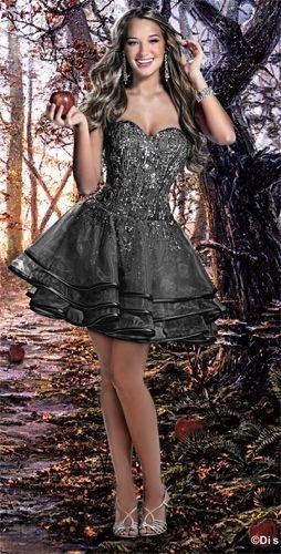 Disney Forever Enchanted 35531 Short Crystal Beaded Prom Dress