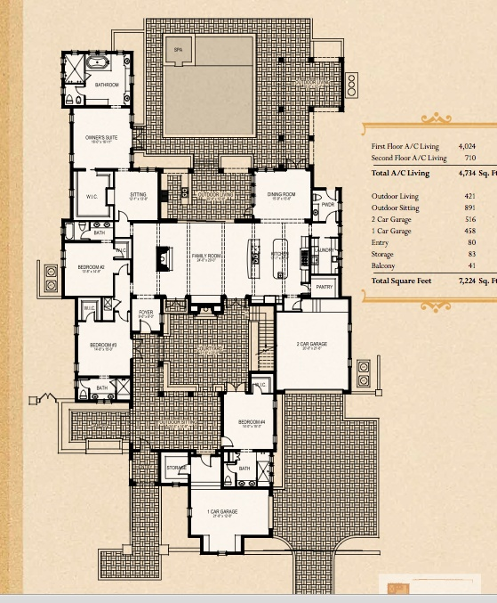 Floor Plan In Golden Oak Disney Development
