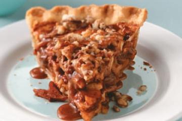 Caramel Pecan Apple Pie | desserts | Pinterest
