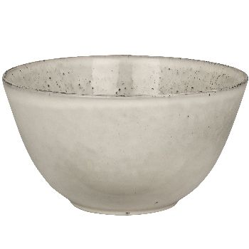 Medium Handmade Serving Bowl In Nordic Sand: A beautiful handmade serving bowl by Broste Copenhagen. Create a stunning hygge table setting with this endlessly useful dish from the Nordic Sand range.  Each piece is unique, so variations in colour and glaze are all part of its charm.  Available in two colours which look fantastic together for an eclectic Nordic look.