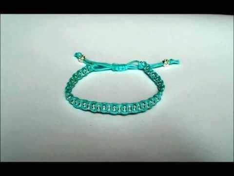 Video of my Macrame Bracelets,  http://www.artfire.com/ext/shop/studio/HCLTreasures