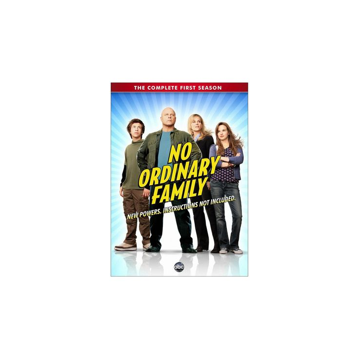 No Ordinary Family: The Complete Series [4 Discs]