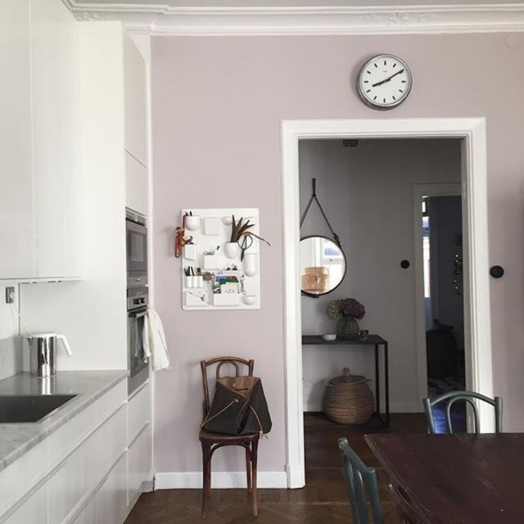 32 Painted Kitchen Wall Designs: Peignoir By Farrow & Ball By Ulrika Randel/seventeendoors