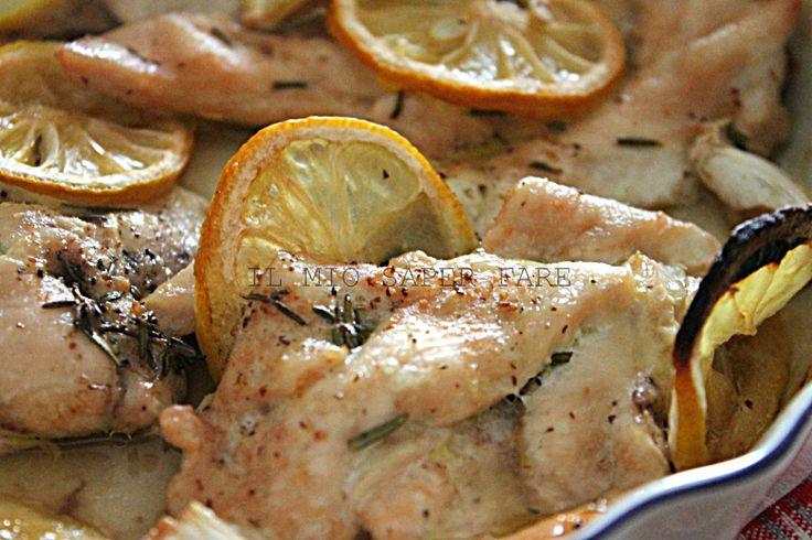 Pollo al limone ricetta light  il mio saper fare   <3