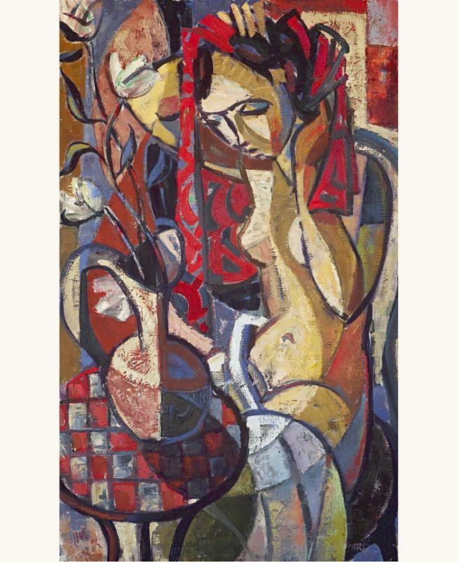 lilithsplace: The Red Towel, 2010 - Hennie Niemann Jr (b. 1972)