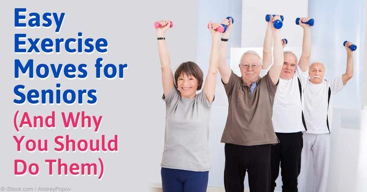 Here are some strength training exercises for seniors that can strengthen their knees, hips and legs, arms, shoulders, back, and core.